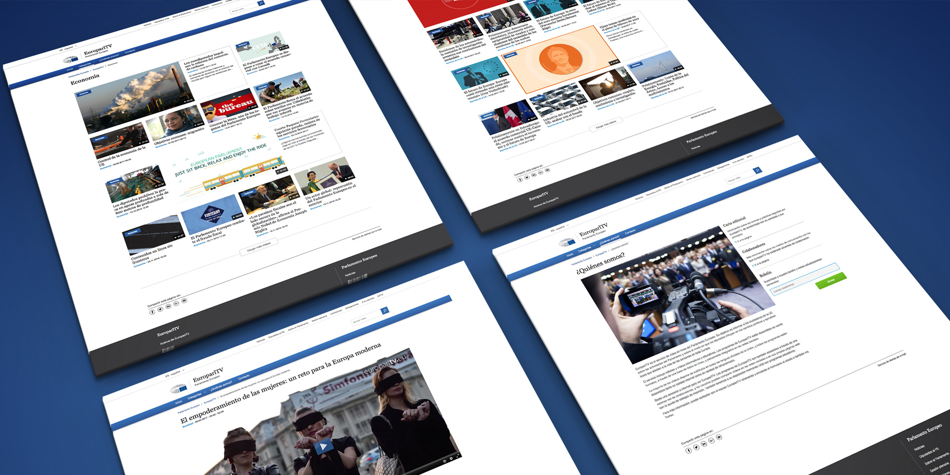 webTv European Parliament LaviniaNext